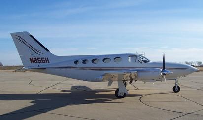 AirFlair Inc. aircraft charter Cessna 414