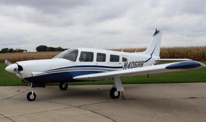 AirFlair Inc. aircraft charter Piper Lance