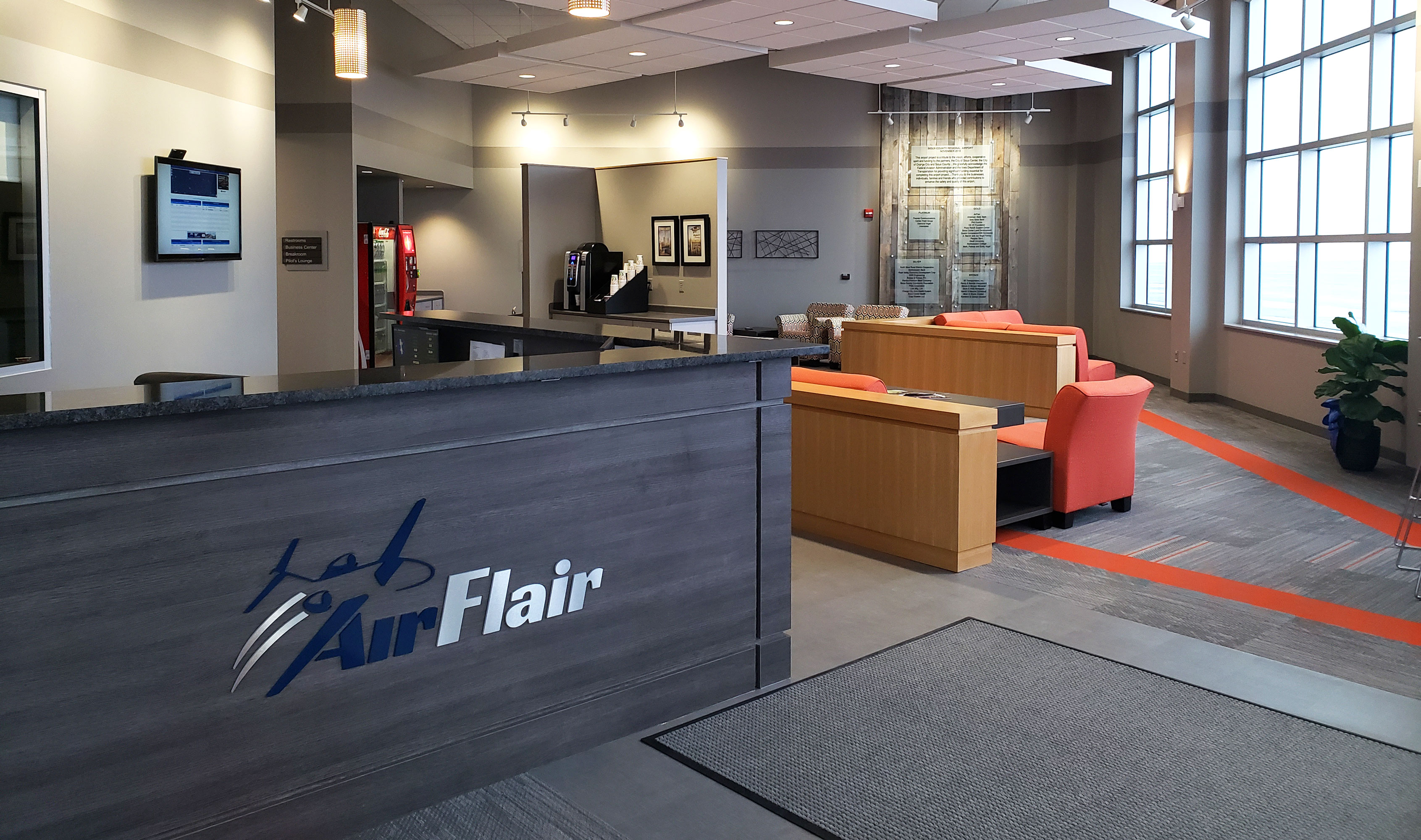 Air Flair lobby